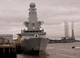 HMS Duncan Type 45 Destroyer IV by DundeePhotographics