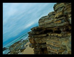 Rocks at Crystal Cove by krissy