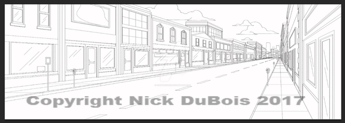 Am Dad Long Street Copyright Nick DuBois 2017 by NDuBdesigns