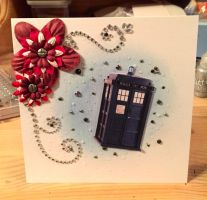 Doctor Who Birthday Card by Mirawennem
