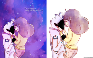 Bee and Puppycat by justixoxo