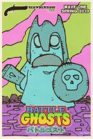 Battle Ghost Card by Hartter