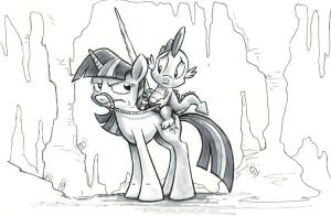 Sketch - Come On, Twilight... by SpainFischer