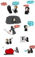 Kylo Ren is a dork by Dulcamarra