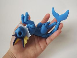 Handmade Vaporeon Ball Jointed Doll - eBay! by vonBorowsky