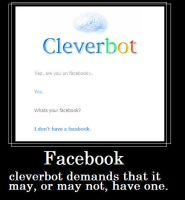 Cleverbot's Facebook by Blissful-DeathTrap