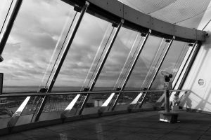 Spinnaker Tower Crows Nest by TouchedD