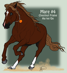Mustang Mare Adoption 4 by JNFerrigno