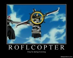 Bleach demotivational: ROFL by Maglorius