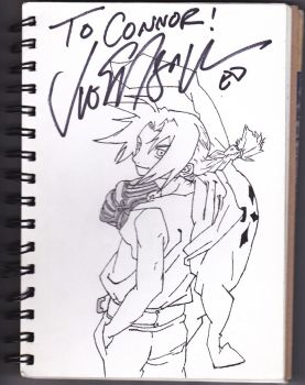 Signed Edward Elric by cony1414