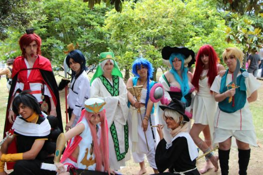 Magi: The Labyrinth of Magic Group by Syl-Chan08