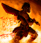 This Wolf DOES Have Teeth by weremagnus