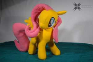 Custom Fluttershy with movable head and wings 5 by Oblitor