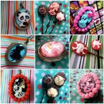 August Lockets and Hair Pins by AndyGlamasaurus