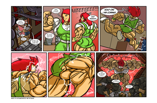 Growth drive comic 3 page 7 by Ritualist