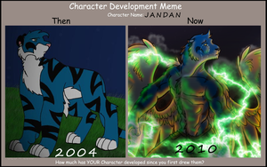 Character Development meme by Songficcer