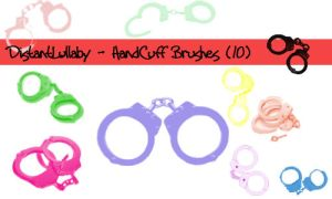 HandCuff Brushes by DistantLullaby