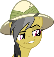 Daring Do Smirk by Ryan1942