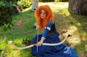 Merida cosplay by Alinechan