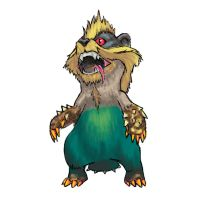 MH3U serie - Chibi Arzuros by 9be