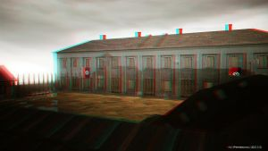 The Red Cross  Anaglyph 3D by UEGProductions