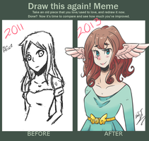 Meme  Before And After- Alice by nyfian