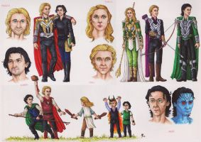 The Heirs of Asgard by KalaSathinee