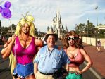 Tetsuko, Jimmy, and Sonya at Disney World by JimmyDimples