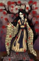 Traditional Kimono dress P by MunchyCrunchyMan