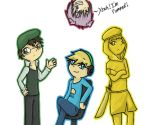 Pewdie and His Bros by SycheTheDragon