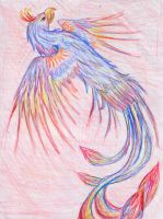 Colourful Phoenix by Starless-Night