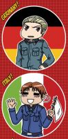APH: Axis Powers Bookmark by likethevirtue