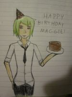 Happy Birthday Maggie by Jaimz-AG