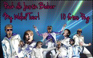 Pack De Png Justin Bieber My World Tour by BeliebersEditions