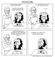 67. Omissions by comicalclare