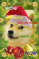 merry christmas doges by PRUSSlA