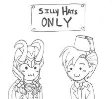 Silly Hats ONLY by XxTaraxKitaidexX