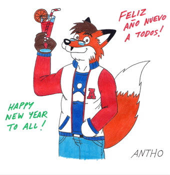 Antho les desea un feliz 2015 by AnthoFur