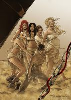 The Wives and Imperator Furiosa by Inhuman00