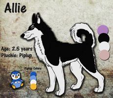 Heartroo commission - Allie Ref by ThisDyingDog