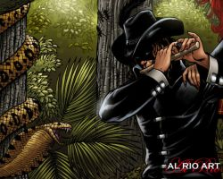 The Piper by Al Rio Wallpaper by AlRioArt