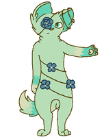 Flower Anthro - CLOSED by StounlingAdopts