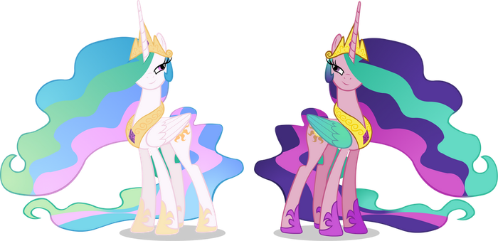 Celestia and Celestia by Doctor-G