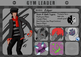 Gym Leader App: Edgar by S-bro