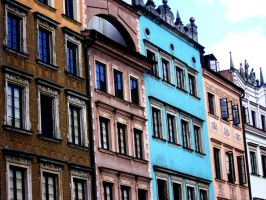 Old Town Warsaw by Domino310
