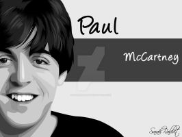 Paul McCartney by SarahRabbit