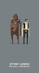 Han and Chewy by thejampot