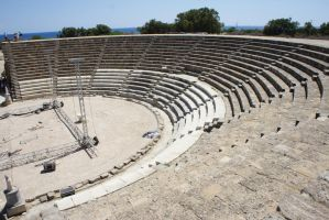 Roman Theater on Cyprus by LiveLongButLOL