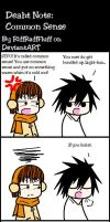 Death Note: Common Sense by RiffRaffFluff
