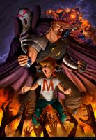 Mighty Max by CarlosDattoliArt